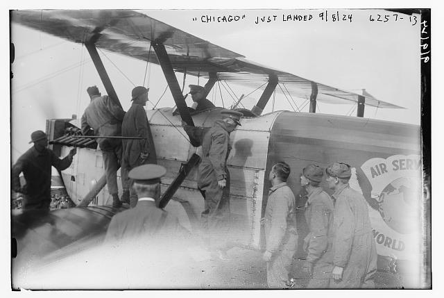 CHICAGO [plane], just landed 1924