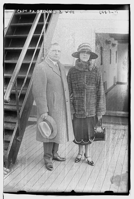 Capt. P.A. Grening & wife
