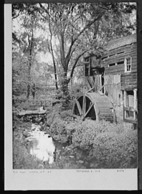 Seventy-one years, or, My life with photography. Old mill, Nyack, New York, no. 2, Sept. 6, 1914