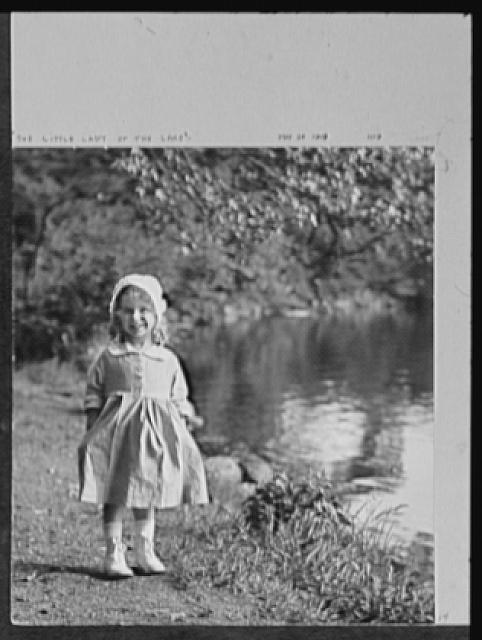 Seventy-one years, or, My life with photography. Little lady of the lake, May 26, 1919