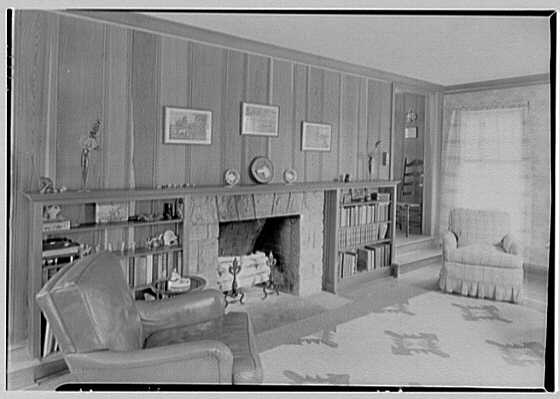 C. Maccoy, residence on Seven Bridges Rd., Chappaqua, New York. Living room