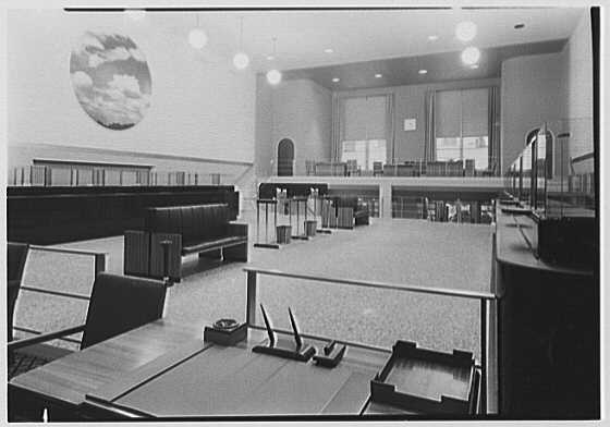 National City Bank, 8 W. 51st St., New York City. Main floor, to front