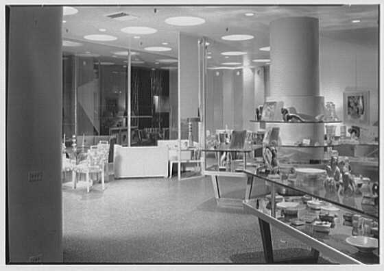 Modern Age, business on E. 34th St., New York City. Interior III