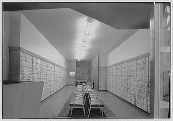 Rival Shoe Company, business at 151 W. 125th St., New York City. Interior I
