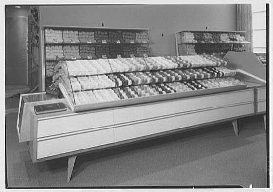 James Lees & Sons Co., business at 295 5th Ave., New York, New York. Ball yarn island