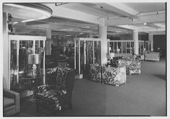 Stern Bros., business on W. 42nd St., New York City. Furniture department V