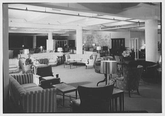 Stern Bros., business on W. 42nd St., New York City. Furniture department VI