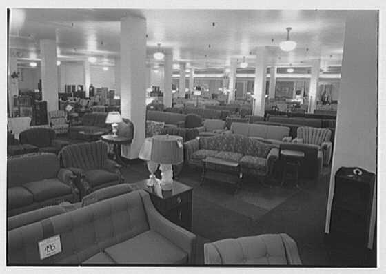 Pomeroy Co., business in Harrisburg, Pennsylvania. Furniture department III