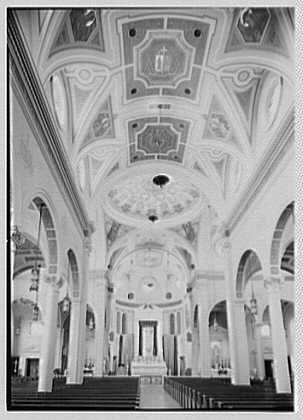 St. Martin de Tours Church, 1288 Hancock St., Brooklyn, New York. Interior I