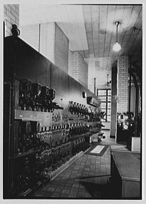 Schaefer Brewing Co., Kent Ave., Brooklyn, New York. Boiler house panel board