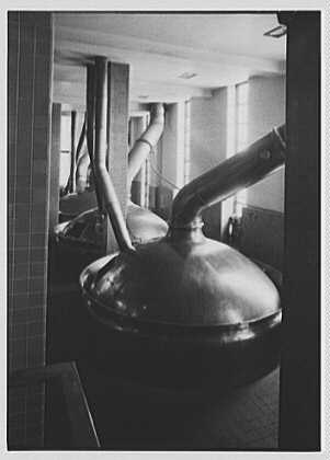 Schaefer Brewing Co., Kent Ave., Brooklyn, New York. Brew house I