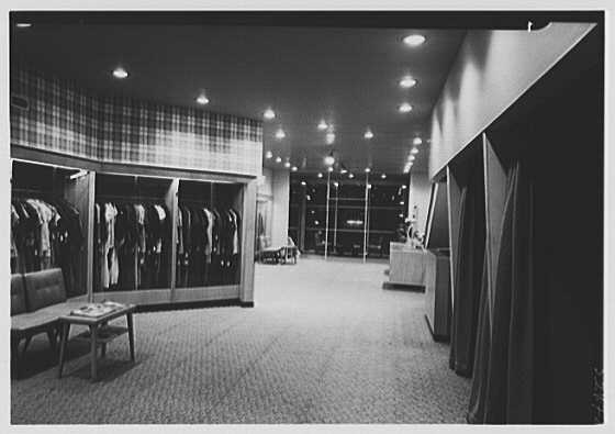 Messinger's, business in New Rochelle, New York. View toward front of store