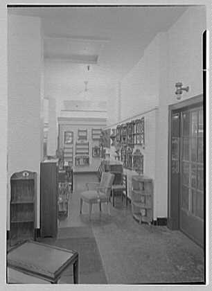 Pomeroy Co., business in Harrisburg, Pennsylvania. Furniture department I
