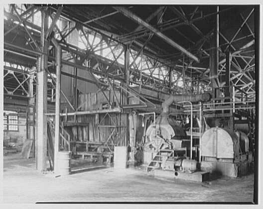 Pittsburgh Plate Glass Co., Columbia Chemical Division. Plant interior XXIX