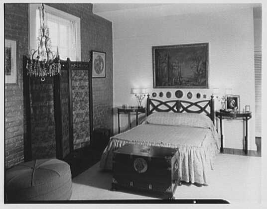 Patricia Murphy, apartment in Manhasset, Long Island, New York. Bedroom I