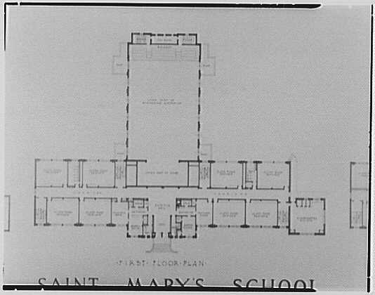 Lawrence L.S. Mayers, 126 Bedford St., Stamford, Connecticut. Left St. Mary's plan, 1st floor