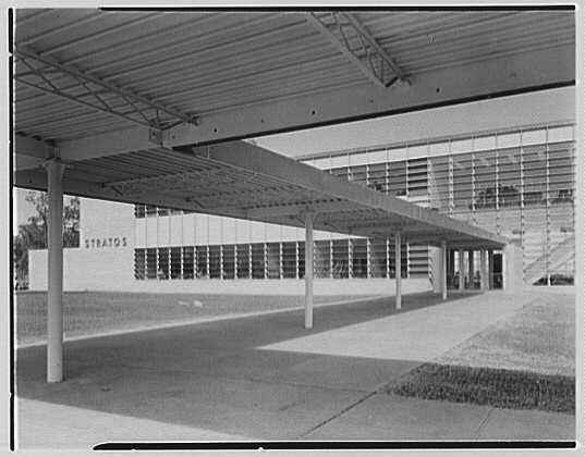 Fairchild Aircraft Corporation, Bayshore, Long Island, New York. To main entrance III