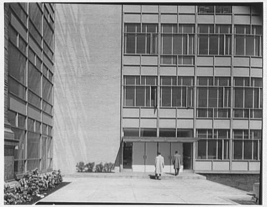 John Thompson Dorrance Laboratory, M.I.T., Cambridge, Massachusetts. East facade VII