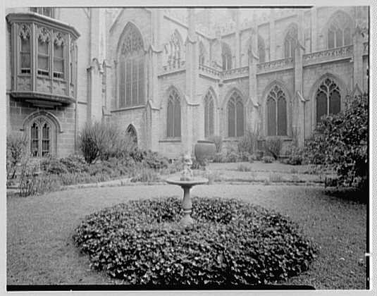 Grace Church, 9th and Broadway, New York City. North garden VI