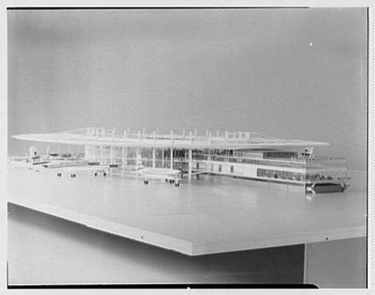 Pan American Airlines, Long Island City. Model I