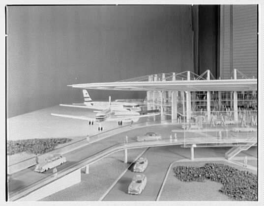 Pan American Airlines, Long Island City. Model VI