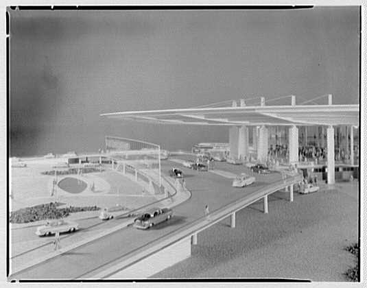 Pan American Airlines, Long Island City. Model VII