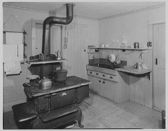 President Calvin Coolidge. Kitchen stove