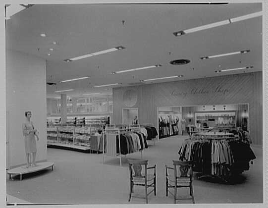 Stewart & Co., business in Reisterstown Rd. Plaza, Baltimore, Maryland. Country clothes