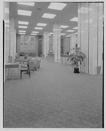 Bowery Savings Bank, 5th Ave. and 34th St., New York City. Banking floor II