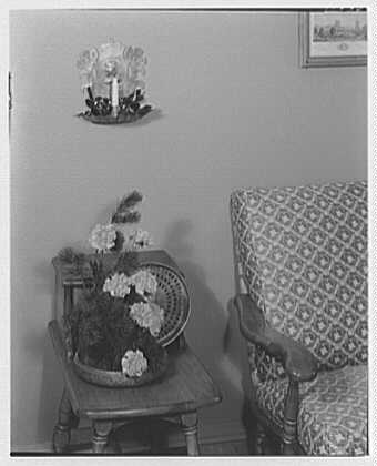 Mrs. Esther Wheeler, book photos at 1506 Woodside Ave., Baldwin, Long Island. Early American