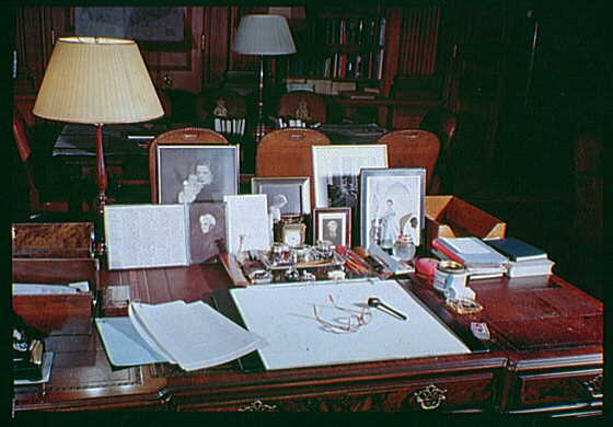 British Embassy, Washington, D.C. Lord Halifax's desk