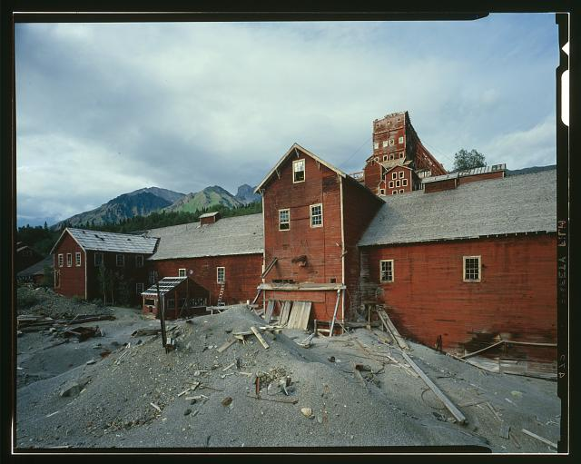 148.  LEACHING PLANT, LOOKING EAST - Kennecott Copper Corporation, On Copper River & Northwestern Railroad, Kennicott, Valdez-Cordova Census Area, AK