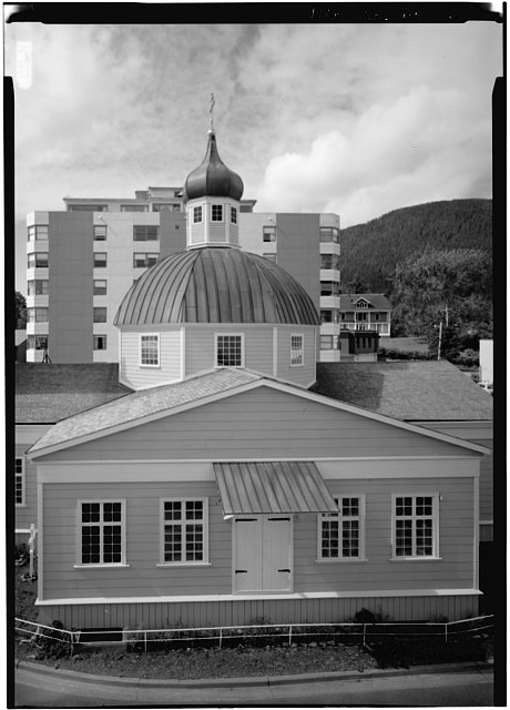 6.  SOUTH SIDE OF TRANSEPT - Saint Michael's Cathedral, Lincoln Street, Sitka, Sitka Borough, AK