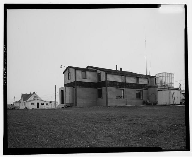1.  NORTH AND WEST SIDES - Brower House, Building 3129, Browerville, Barrow, North Slope Borough, AK