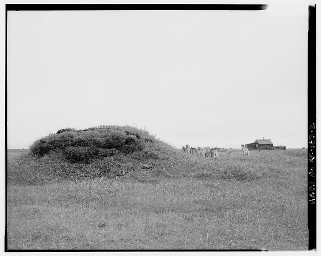 2.  NORTH SIDE - Nanny Ooyatohna House, Tigara Village, Point Hope, North Slope Borough, AK