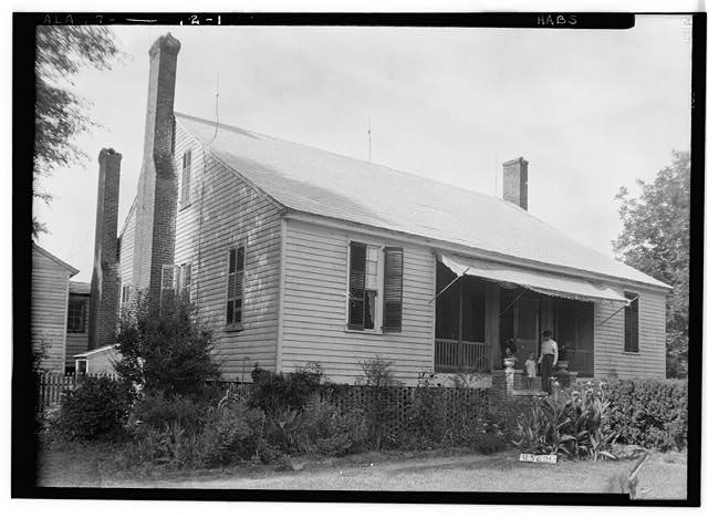 2.  Historic American Buildings Survey W. N. Manning, Photographer, June 12, 1935. FRONT AND SIDE VIEW, S.W. - Will Crenshaw Plantation (House), County Road 54, Greenville, Butler County, AL