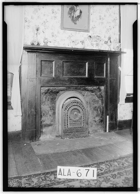 5.  Historic American Buildings Survey W. N. Manning, Photographer, March 29, 1935 MANTEL IN DINING ROOM, N.E. ROOM - Dixon H. Lewis House, State Highway 97 (County Road 29), Lowndesboro, Lowndes County, AL