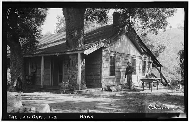 2.  Historic American Buildings Survey Photographed by Henry F. Withey June 1937 DETAIL OF NORTHWEST CORNER. - Butterfield Stage Station, Oak Grove, San Diego County, CA