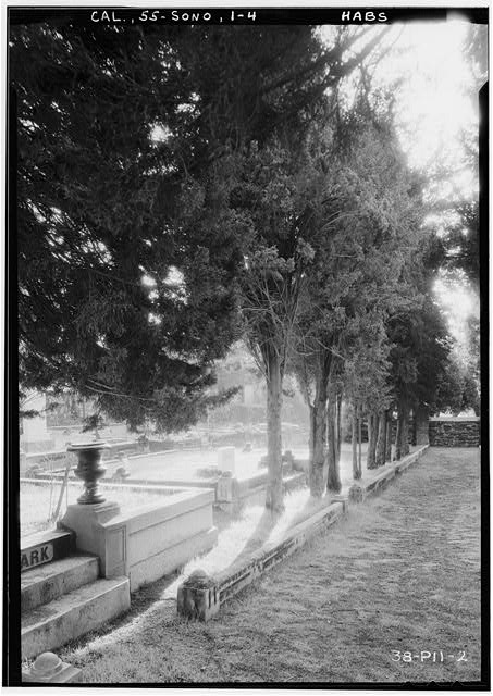 4.  Historic American Buildings Survey Roger Sturtevant, Photographer Jan. 22, 1934 MAIN AVENUE LOOKING SOUTH-EAST - Grave Stones, Jewish Cemetery, Yaney Avenue, Sonora, Tuolumne County, CA