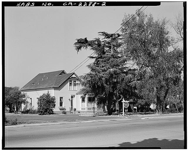2.  VIEW OF CHAMPION HOUSE FROM ACROSS MOWRY AVENUE, FACING WEST - Champion House, 1357 Mowry Avenue, Fremont, Alameda County, CA