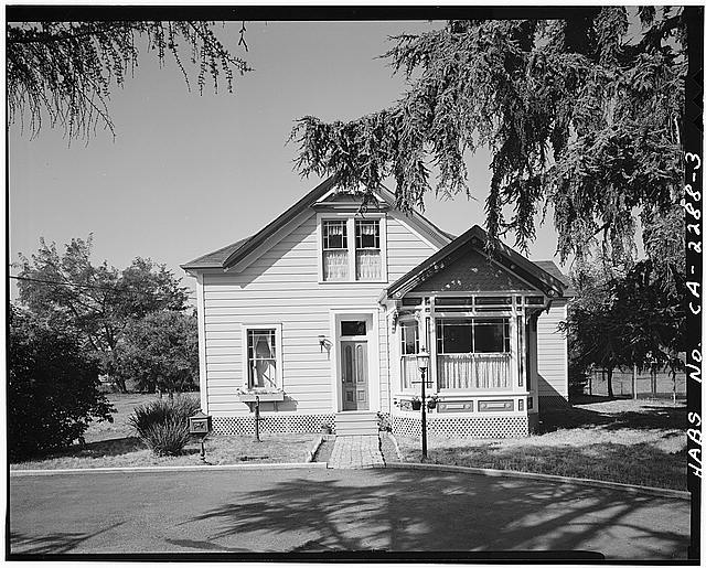 3.  VIEW OF CHAMPION HOUSE EAST FRONT, FACING WEST - Champion House, 1357 Mowry Avenue, Fremont, Alameda County, CA