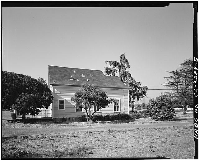 5.  VIEW OF CHAMPION HOUSE SOUTH SIDE, FACING NORTH - Champion House, 1357 Mowry Avenue, Fremont, Alameda County, CA