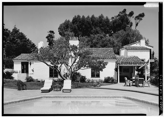 3.  SOUTHWEST SIDE - Stoltzfus-Humphries House, 6855 La Valle Plateada, Rancho Santa Fe, San Diego County, CA