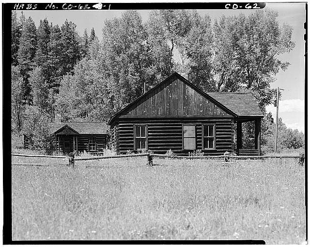 1.  OVERALL VIEW OF COMPLEX FACING NORTH AND WEST - Horseshoe Ranger Station, 15 miles South of Parshall, Parshall, Grand County, CO
