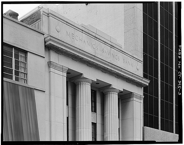 3.  DETAIL OF CORNICE, SOUTH ELEVATION - Mechanics Savings Bank Building, 80 Pearl Street, Hartford, Hartford County, CT