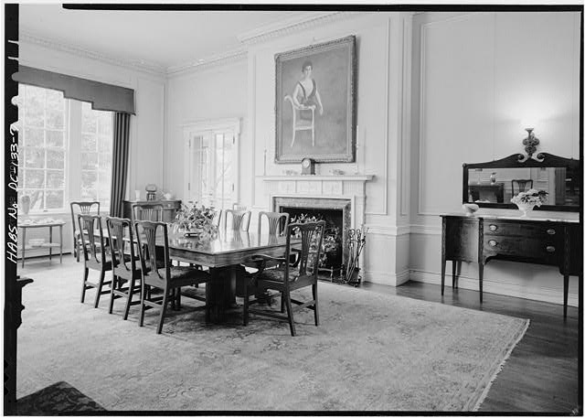 7.  SECOND FLOOR, FORMAL DINING ROOM - Woodrow Wilson House, 2340 South S Street, Northwest, Washington, District of Columbia, DC