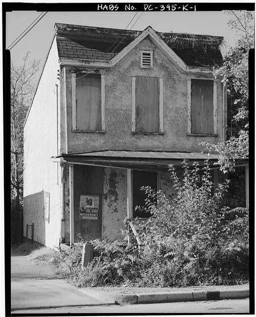 1.  VIEW SOUTHWEST, SHOWING NORTHEAST (FRONT) ELEVATION - Howard Road Historic District, William E. Willis House, 1119 Howard Road, Washington, District of Columbia, DC