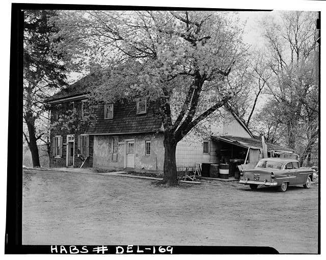 3.  Historic American Buildings Survey Earl Brooks, Photographer 1958 GENERAL VIEW FROM SOUTHEAST - Robinson-Murray House, Limestone Road, Milltown, New Castle County, DE