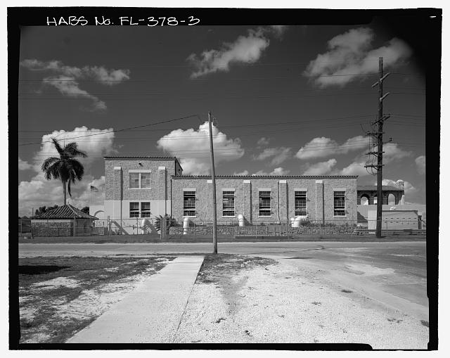 East side - Miami Municipal Water Softening Plant, 700 West Second Avenue, Hialeah, Miami-Dade County, FL