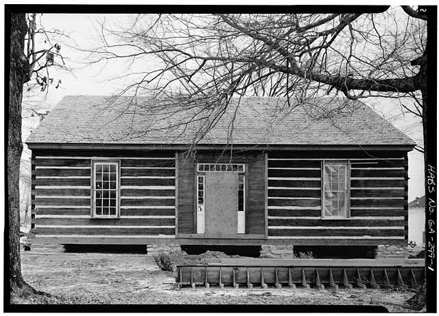1.  NORTH FRONT - Kolb House, Powder Springs Road, Kennesaw, Cobb County, GA